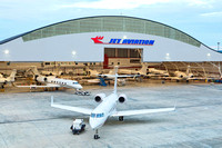 Aerospace industrial photography - Jet Aviation