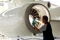Aerospace industrial photography-Jet Aviation